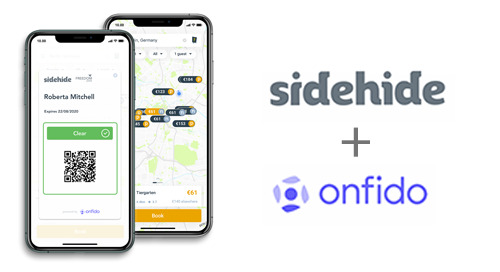 Onfido and Sidehide to bring immunity passports to the travel industry