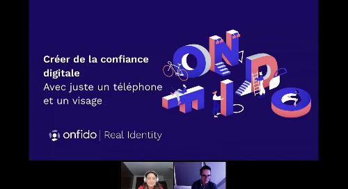French Web Decode Day | Créer de la confiance digitale avec juste un téléphone et un visage