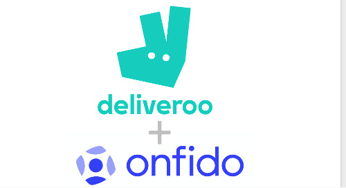 Deliveroo and Onfido expand partnership to provide streamlined digital identity verification for onboarding riders