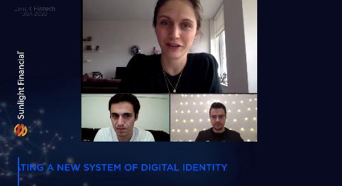 Lendit FinTech USA 2020: Creating a new system of digital identity