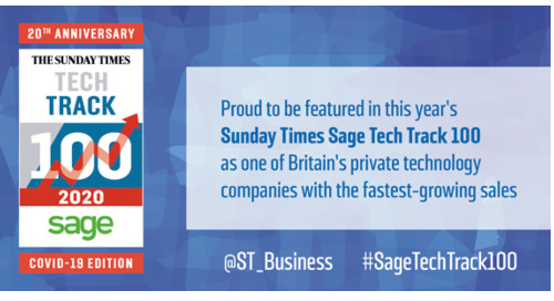 Onfido Named in The Sunday Times Sage Tech Track 100