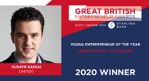 Husayn Kassai named Young Entrepreneur of the Year
