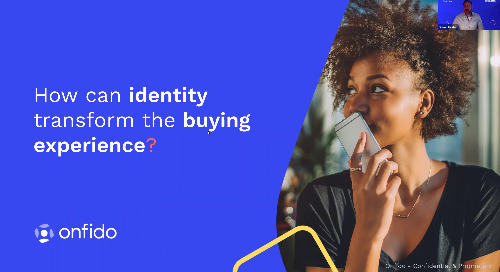Motor Finance Europe | How can identity transform the buying experience?