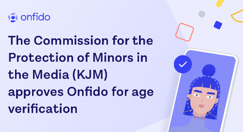 German Commission for the Protection of Minors in the Media approves Onfido for age verification