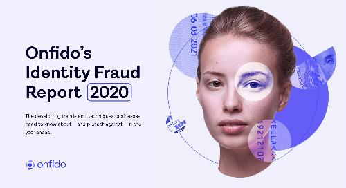 Identity Fraud Report 2020