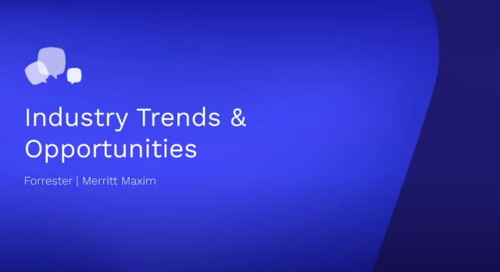 CAB 2020: Industry Trends & Opportunities (Merritt Maxim, VP, Research Director Security & Risk, Forrester)