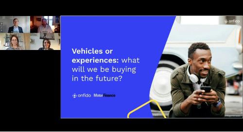 Vehicles or experiences - what will we be buying in the future?