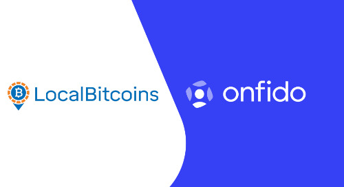 LocalBitcoins expands partnership with Onfido, powering security-first cryptocurrency trading with trusted identity verification