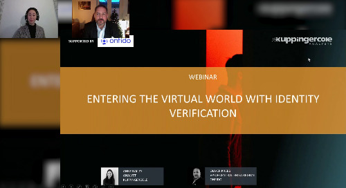 KuppingerCole & Onfido: Entering the Virtual World with Identity Verification
