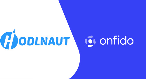 Hodlnaut selects Onfido to automate customer onboarding for its crypto lending platform using trusted identity verification
