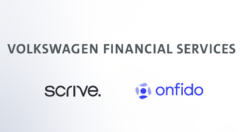 Volkswagen Financial Services debuts digital financing solution powered by Scrive and Onfido