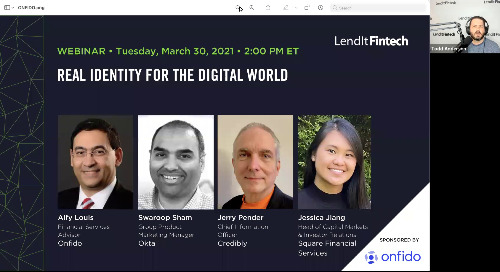 LendIt Fintech | Real identity for the digital world