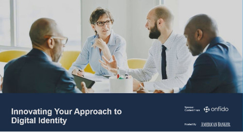 American Banker: Innovating your approach to digital identity | Webinar