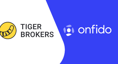Tiger Brokers Singapore selects Onfido to automate customer onboarding using AI-powered identity verification