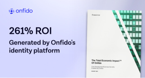 Forrester finds Onfido delivers 261% ROI to businesses
