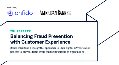 Balancing fraud prevention with customer experience