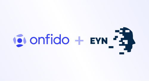 Welcoming biometrics innovator EYN to Onfido