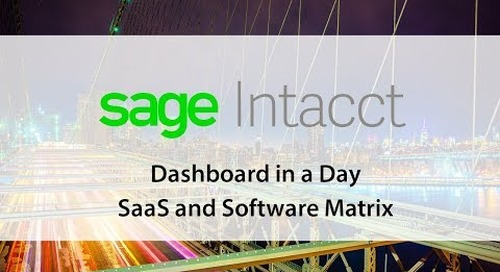 SaaS Dashboards in a Day