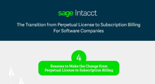 The Transition from Perpetual License to Subscription Billing For Software Companies