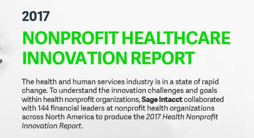 Nonprofit Healthcare Innovation Report