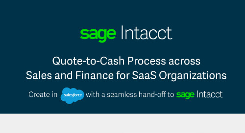Quote-to-Cash Salesforce Integration for SaaS Companies