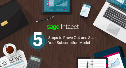 5 Steps to Prove Out and Scale Your Subscription Model