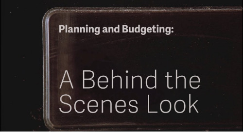 Planning and Budgeting: A Behind the Scenes Look with Sage Intacct