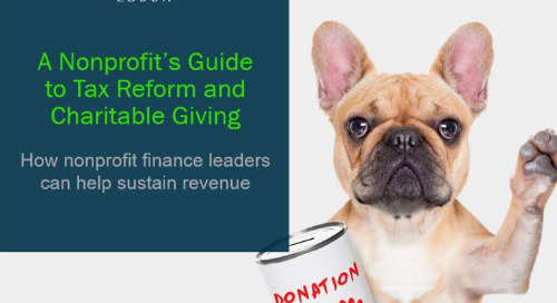 A Nonprofit's Guide to Tax Reform and Charitable Giving