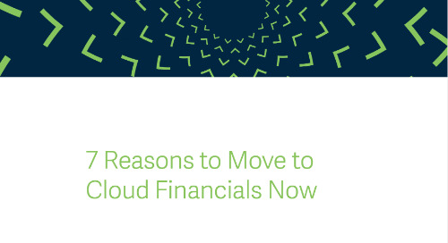 Seven Reasons To Move To Cloud