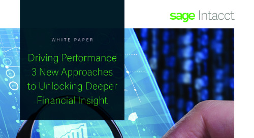 Three New Approaches To Deeper Financial Insight