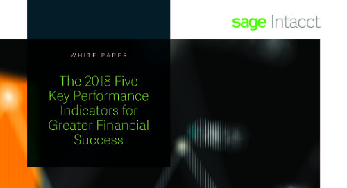Five Financial KPIs For Services Companies