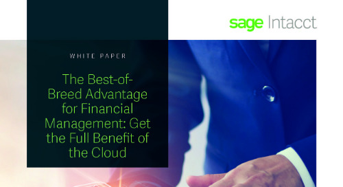Financial Management Cloud Benefits
