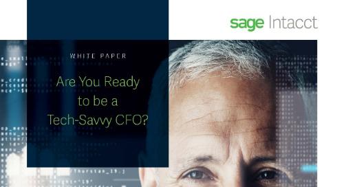 Tech Savvy CFO