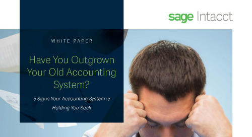Five Signs You Have Outgrown Your Accounting System