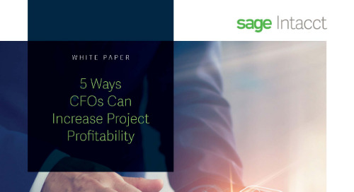 5 Ways CFOs Can Increase Project Profitability
