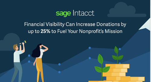 Financial Visibility Can Increase Donations by up to 25% and Help Fuel Your Nonprofit's Mission