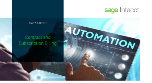 Contract Subscription Billing