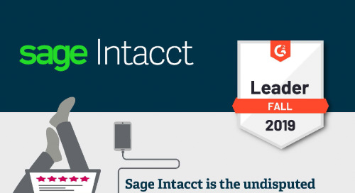Sage Intacct is #1 in Customer Satisfaction - G2 Fall 2019