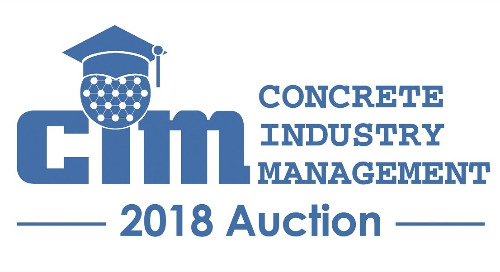 Bidding for Good: The Concrete Industry Management Program Draws Support and Funds Through Their Annual Auction