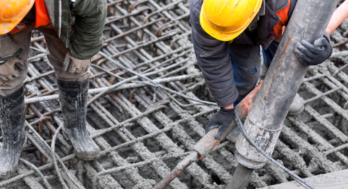 Long-lasting, High Quality Concrete Despite Freezing, Wintry Weather