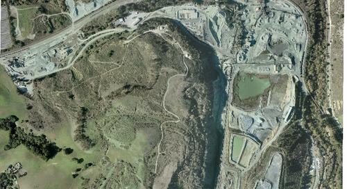 Graniterock's A.R. Wilson Quarry Highlighted
