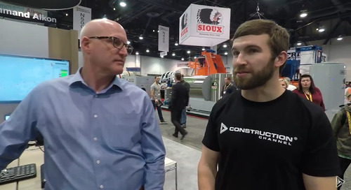 Command Alkon featured on The Construction Channel at 2018 World of Concrete