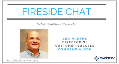 Command Alkon on Creating a Customer-Centric Culture, Featured on Satrix Solutions Fireside Chat