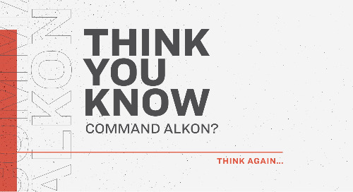 Think You Know Command Alkon?