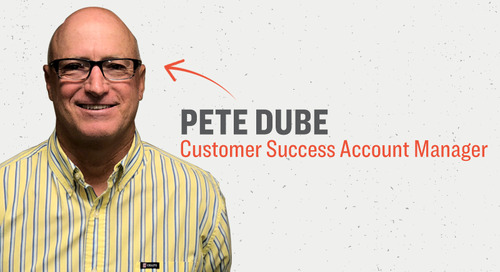 People in Command: Pete Dube