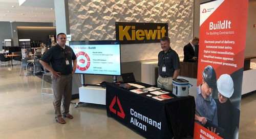 Kiewit Corporation Inaugural Innovation Vendor Expo