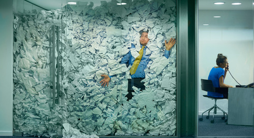 "Outdated Processes in the Construction Industry Brings a New Meaning to ""Chasing Paper"""