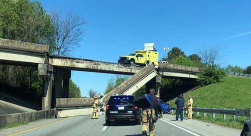 Another Bridge Collapses on Busy US Interstate