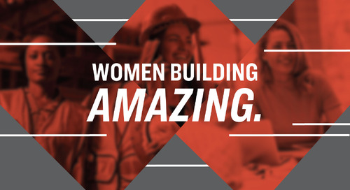 Women Building Amazing: Alicia Press, Lagan Cement Company