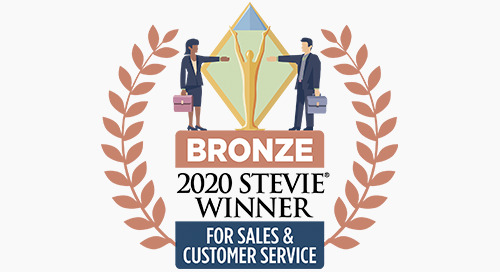 Command Alkon Wins Bronze Stevie® Award in 2020 Stevie Awards for Sales & Customer Service